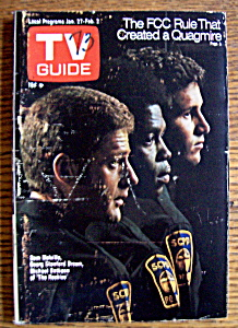 Tv Guide - January 27-february 2, 1973 - The Rookies
