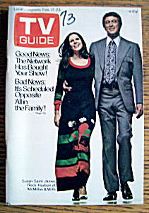 Tv Guide - February 17-23, 1973 - Mcmillan & Wife