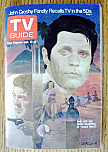 Tv Guide - September 22-28, 1973 - Hawaii Five-o