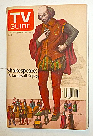 Tv Guide-february 10-16, 1979-shakespeare