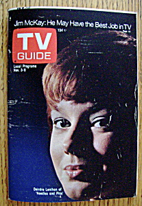 Tv Guide - November 3-9, 1973 - Deirdre Lenihan