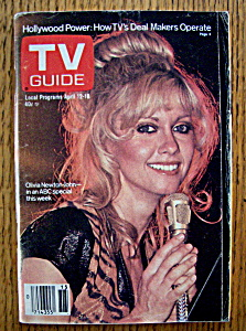 Tv Guide - April 12-18, 1980 - O. Newton - John