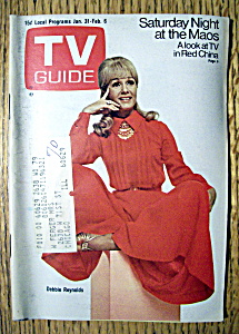 Tv Guide - January 31-february 6, 1970 - D. Reynolds