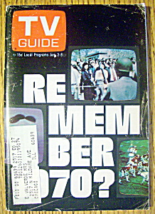 Tv Guide-january 2-8, 1971-remember 70?