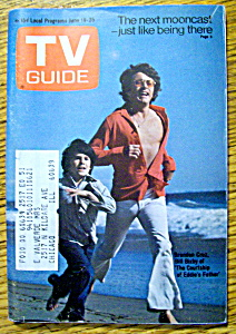 Tv Guide-june 19-25, 1971-bill Bixby & Brandon Cruz