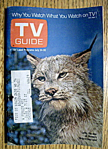 Tv Guide - July 24-30, 1971 - Lefty