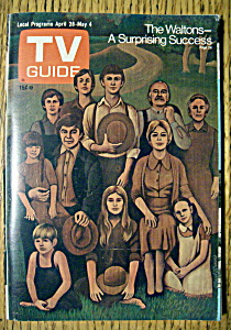 Tv Guide - April 28-may 4, 1973 - The Waltons