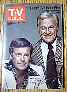 TV Guide - December 13-19, 1975 - R. Wagner & E. Albert (Image1)