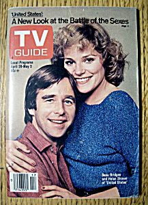 TV Guide - April 26-May 2, 1980 - Bridges & Shaver (Image1)