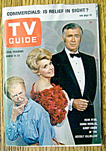 Tv Guide-march 14-20, 1964-the Beverly Hillbillies