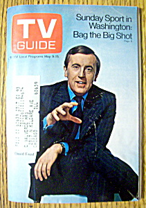 Tv Guide-may 9-15, 1970-david Frost