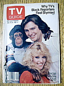 Tv Guide - July 18-24, 1981 - Bj And The Bear