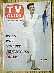 Tv Guide - April 5-11, 1958 - Gale Storm