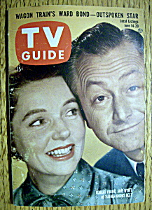 Tv Guide - June 14-20, 1958 - R. Young & J. Wyatt