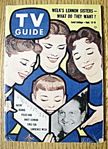 Tv Guide - September 13-19, 1958 - Lawrence Welk
