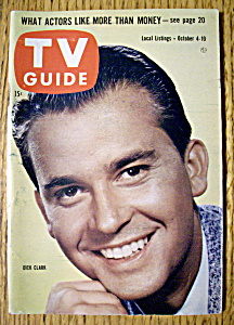 Tv Guide - October 4-10, 1958 - Dick Clark
