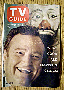 Tv Guide - January 24-30, 1959 - Red Skelton