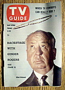 Tv Guide - February 14-20, 1959 - Alfred Hitchcock