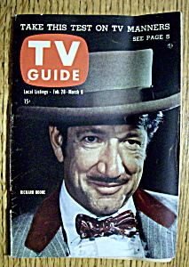 Tv Guide - February 28-march 6, 1959 - Richard Boone