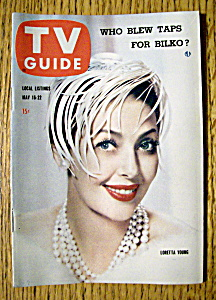 Tv Guide - May 16-22, 1959 - Loretta Young