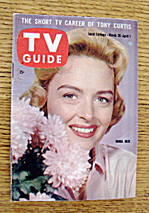 Tv Guide - March 26-april 1, 1960 - Donna Reed