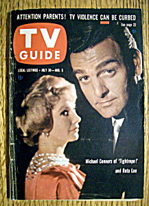 Tv Guide - July 30-august 5, 1960 - Tightrope