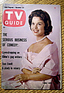 Tv Guide-december 3-9, 1960-shirley Temple Black