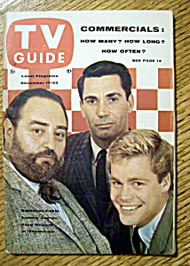 Tv Guide - December 17-23, 1960 - Checkmate