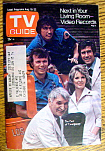 Tv Guide-august 16-22, 1975-emergency