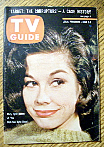 Tv Guide - June 2-8, 1962 - Mary Tyler Moore