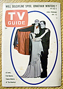 Tv Guide - January 2-8, 1965 - The Munsters