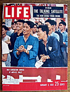 Life Magazine-January 5, 1959-Anti U. S. Rally (Image1)