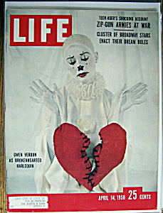 Life Magazine-April 14, 1958-Gwen Verdon (Image1)
