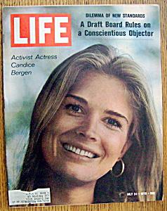 Life Magazine July 24, 1970 Candice Bergen (Image1)