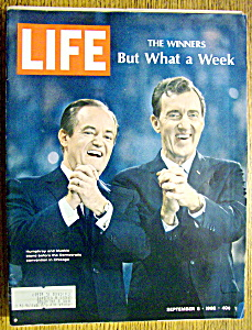 Life Magazine-September 6, 1968-Humphrey & Muskie (Image1)