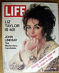 Life Magazine-February 25, 1972-Elizabeth Taylor (Image1)