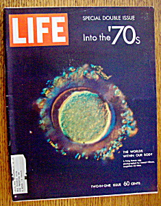 Life Magazine-january 9, 1970-into The 70's