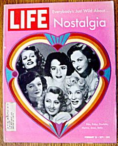 Life Magazine - February 19, 1971 - Nostalgia (Image1)