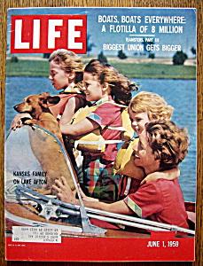 Life Magazine June 1, 1959 Kansas Family (Image1)