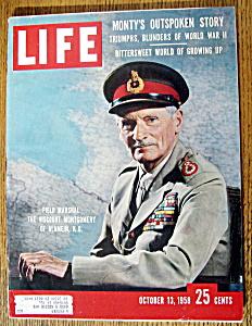 Life Magazine - October 13, 1958  - Viscount Montgomery (Image1)
