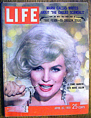 Life Magazine - April 20, 1959 - Marilyn Monroe