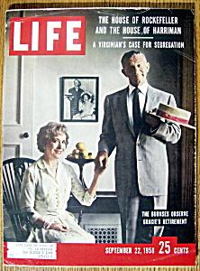 Life Magazine - September 22, 1958  - The Burnses (Image1)