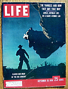 Life Magazine - September 29, 1958  - The Big Country (Image1)
