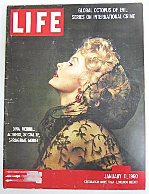 Life Magazine January 11, 1960 Dina Merrill (Image1)