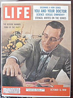 Life Magazine-October 12, 1959-Bedside Manner (Image1)