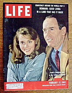 Life Magazine February 22, 1960  Jane & Henry Fonda (Image1)