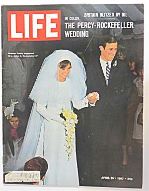 Life Magazine April 14, 1967 Percy-rockefeller