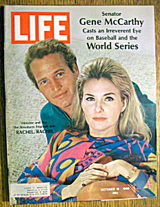 Life Magazine-October 18, 1968-Paul Newman/World Series (Image1)