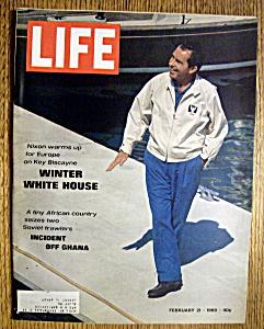 Life Magazine - February 21, 1969 - Nixon (Image1)
