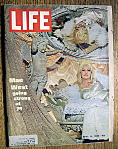 Life Magazine - April 18, 1969 - Mae West (Image1)